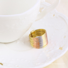 Xuping Hot Sell Fashion Multicolor Copper Ring