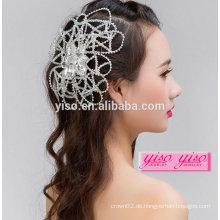 Wulstige Art und Weise späteste Braut headwear Weinlesehaarzusätze