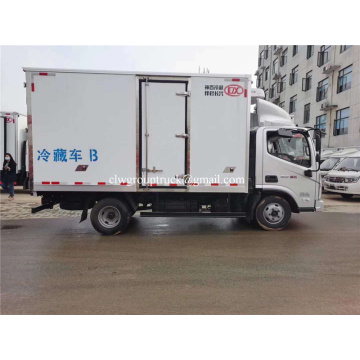 Foton 2-5ton refrigerator truck for sea food