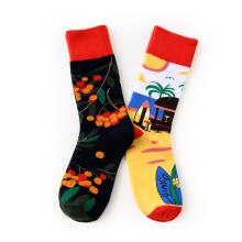 Cartoon Crew Printing Sublimation Children Anti Slip Toddler Cute Animal Knitted Socks