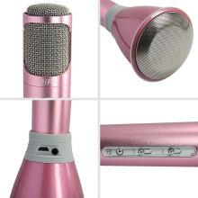 Microfone sem fio Bluetooth para karaokê