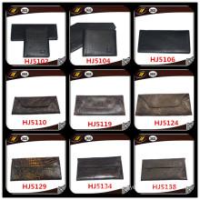 Silver Clutch Ethnic Faux Leather Women Wallets (HJ5072)