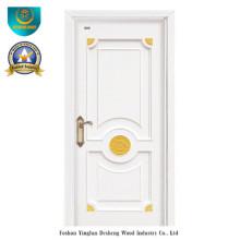 Porta de madeira maciça estilo moderno para quarto (ds-8029)