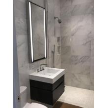 Modern style bathroom vanity mirror cabinet with lighting