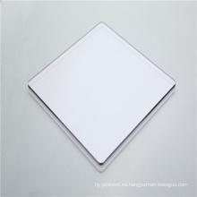 Lámina maciza de policarbonato duro de 4 mm para parabrisas