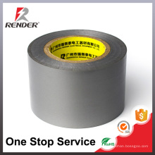Fournisseur chinois matériaux d'isolation en caoutchouc personnalisé couleur noire ruban adhésif PVC bon marché