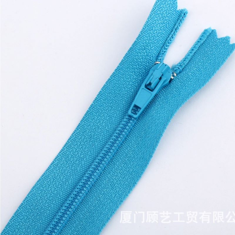 Long zippers for clothing