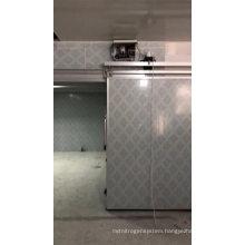 Whole Sale  Cold Chamber Storage Room SUS 304 Accessories Double Open Camara frigorifica Sliding door price