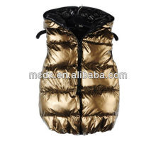 2016 shiny waistcoat for young girls