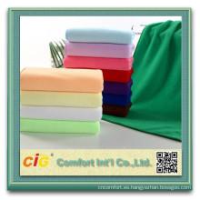 100 rollo de tela CVC o algodón microfibra toalla