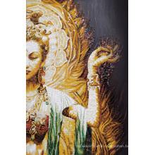 Buddha Hand Cut Art Design Glass Mosaic (CFD149)