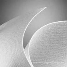 Medios de fieltro de aguja compuestos de fibra de vidrio