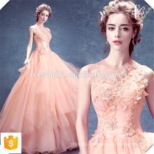 Vestido de Noite Lange rosa Abendkleider Dinner Kleid 2016 Haut rosa lang Formal Kleid Spezielle Anlass Kleid