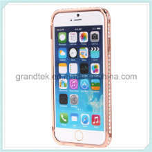 Crystal Rhinestone Bumper Case for iPhone6, Phone Case for iPhone6