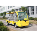 23 seater electric tourist car sightseeing cart bus golf cart for sale shuttle bus