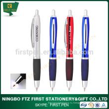 Ручка с металлическим резиновым ручкой