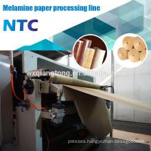 HPL Paper impregnate line / Decor melamine paper gluing line