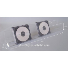 Klare Acryl Wand-CD-Halter