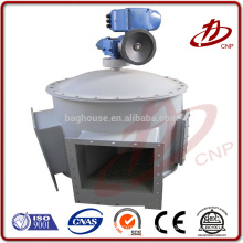 Unloading valve, airlock feeder or star unloader valve used under dust collector