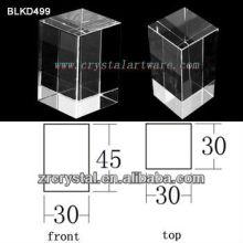 K9 Branco cristal para BLKD499 de gravura do Laser 3D