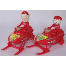 Weihnachtsmotorschlitten-Spielzeug-Süßigkeit (110524)