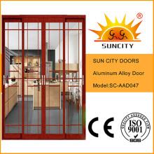 Ventas económicas Cheaeper puerta decorativa de aluminio del balcón (SC-AAD047)