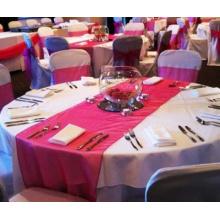 Protex al por mayor de corredores de mesa decoraciones de boda