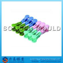 Molde de clipe de pano de plástico