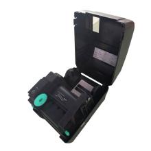 Feuille de marquage à chaud dans le papier noir en plastique textile impression imprimante à ruban à chaud