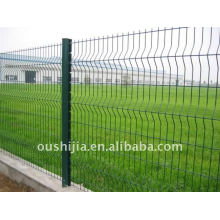 Multicolored pvc coated farm wire mesh fence (Factory)