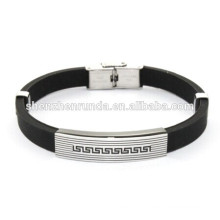 Good quality Great Wall silicon bracelet men's jewelry China Supplier & Manufacturer & Factory