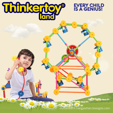 Jouet de construction Plasitic enfant éducatif