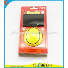 Hot Selling Kid's Toy Yellow Stripe Wrist Hi Rubber Bounce Ball