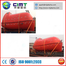 good quality open and enclosed lifeboat with CCS BV