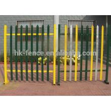 Barato punta de lanza de hierro forjado Panel de acero Panel de seguridad