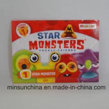 Гравировка печатных игрушек Упаковка 3 боковых уплотнения с разрывом
