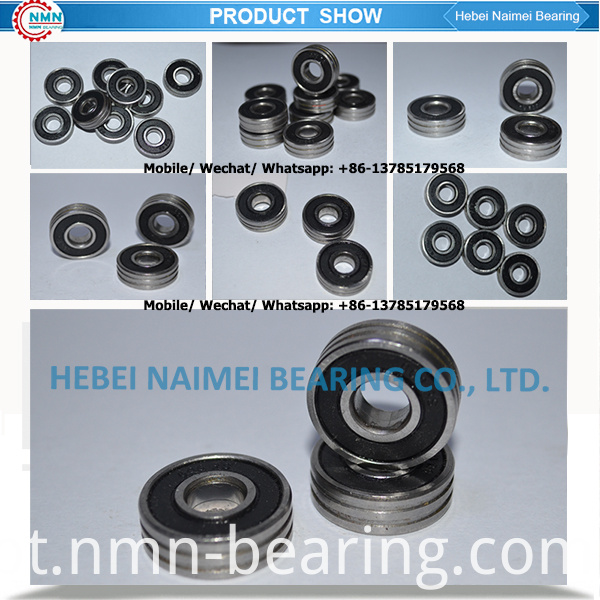 double grooved ball bearing