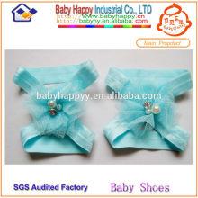 Chaussures confortables à la main haut de bébés en bétail de dollar $ 1 dollar