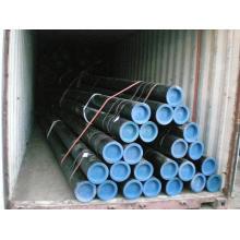 Tubos de aço carbono soldados longitudinalmente ASTM A53