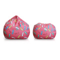 Sofá niña Crumbs pink bean bag chair