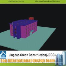 Haute qualité et faible coût du bâtiment préfabriqué moderne