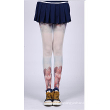 2016 fashion new design black and white Japan Asian tattoo stocking tube