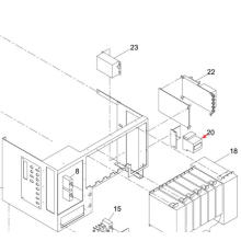 Panasonic SMT Circuit Protector para la impresora de pantalla Sp60p-M (KXFP6CTAA00)