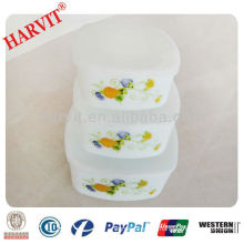 All Kinds Of Heat Resistant Ethiopian Fine Opal Rough Glassware Dinnerware Sets/Microwave Fridge Food Storage Container With Lid