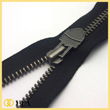 Dents de nickel noir faites sur commande No.5 Metal Zipper