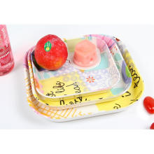 (BC-TM1020) Hot-Sell High Quality Reusable Melamine Serving Tray