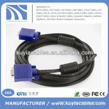 HD15 SVGA Super VGA Mâle M / M Câble de moniteur