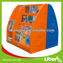 Environmental-friendly & safe materials Wooden Kids Toy Cabinet with Reasonable Price LE.SJ.001