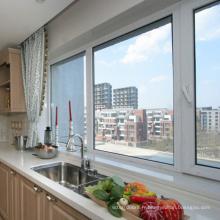 fenêtres à guillotine upvc à double vitrage / portes et fenêtres guangzhou szh