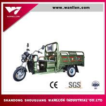 Triciclo elétrico da carga barata rápida de 800W com cabine